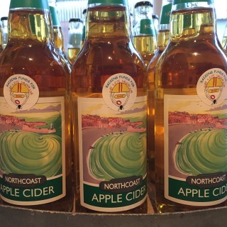 North Coast Cider, a perfect accompaniment for our award winning British Charcuterie and cured meats