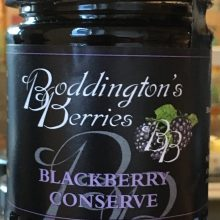 A delicious Cornish produced jam to go in a bespoke hamper of Cornish produce