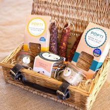 Artisan British Charcuterie available in the Cider Barn & Deli. Award winning pates, rillettes, cured meats and lots of other lovely Cornish produced goodies.