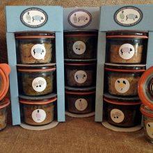 A 3 jar gift pack of award winning british charcuterie