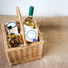 Bespoke hampers with award winning British Charcuterie, cured meats and other Cornish produce