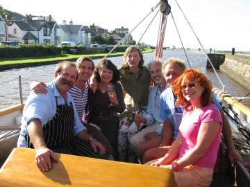 With The Hungry Sailors on the Morwenna