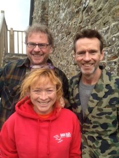 Fionagh & Richard with Oliver Peyton
