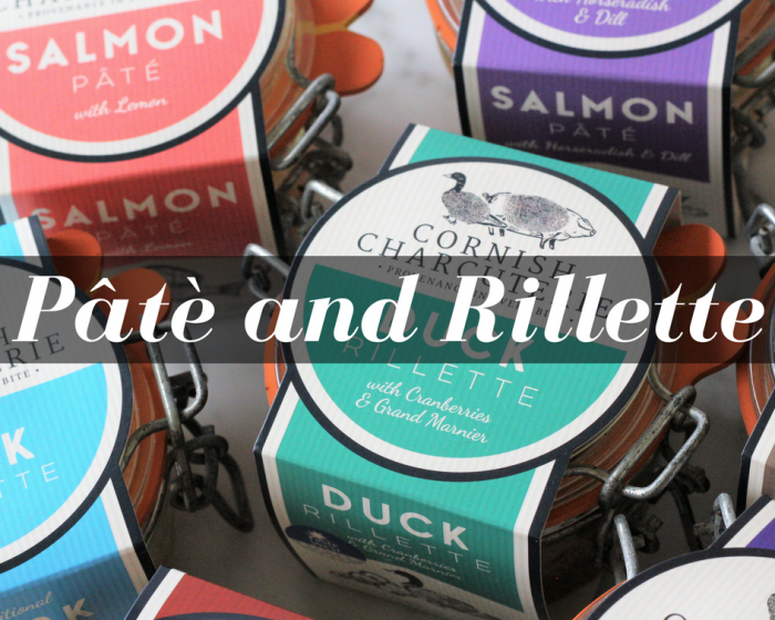 Artisan British pate and rillette created by Cornish Charcuterie